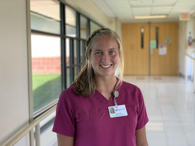 Lela Rautiola a Nurse from Chassell