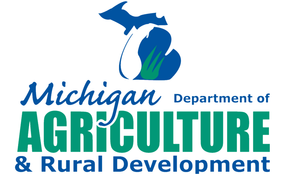 Michigan Department of Agriculture and Rural Development Logo