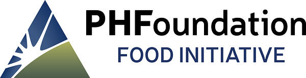 PHF Food Initiative Logo Horiz CMYK OL