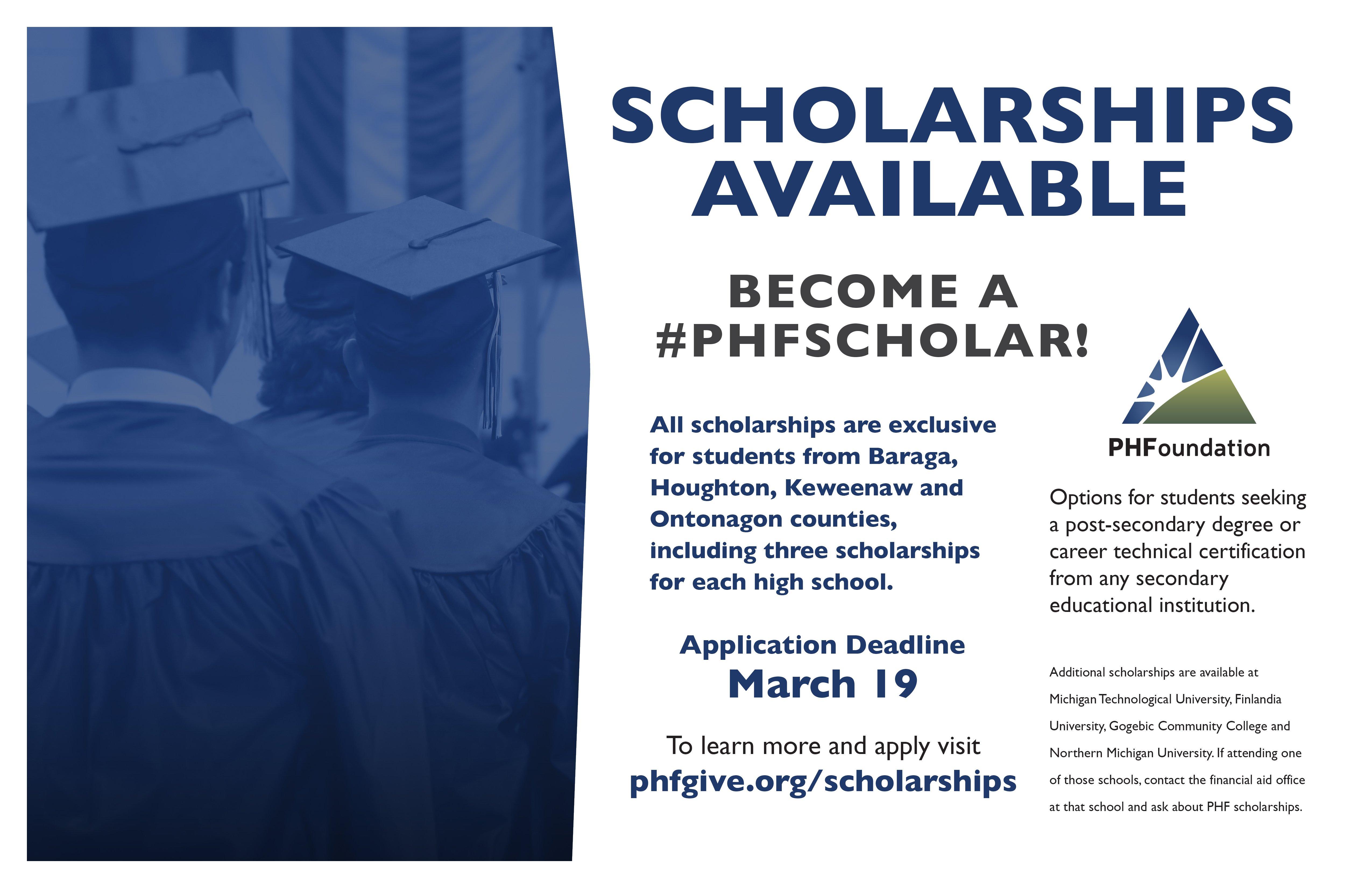 PHF Scholarship Poster