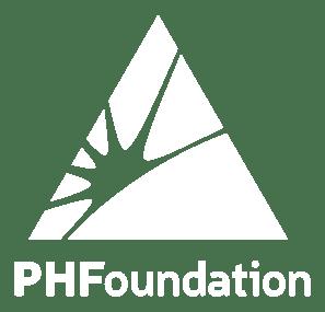Portage Health Foundation Logo - White