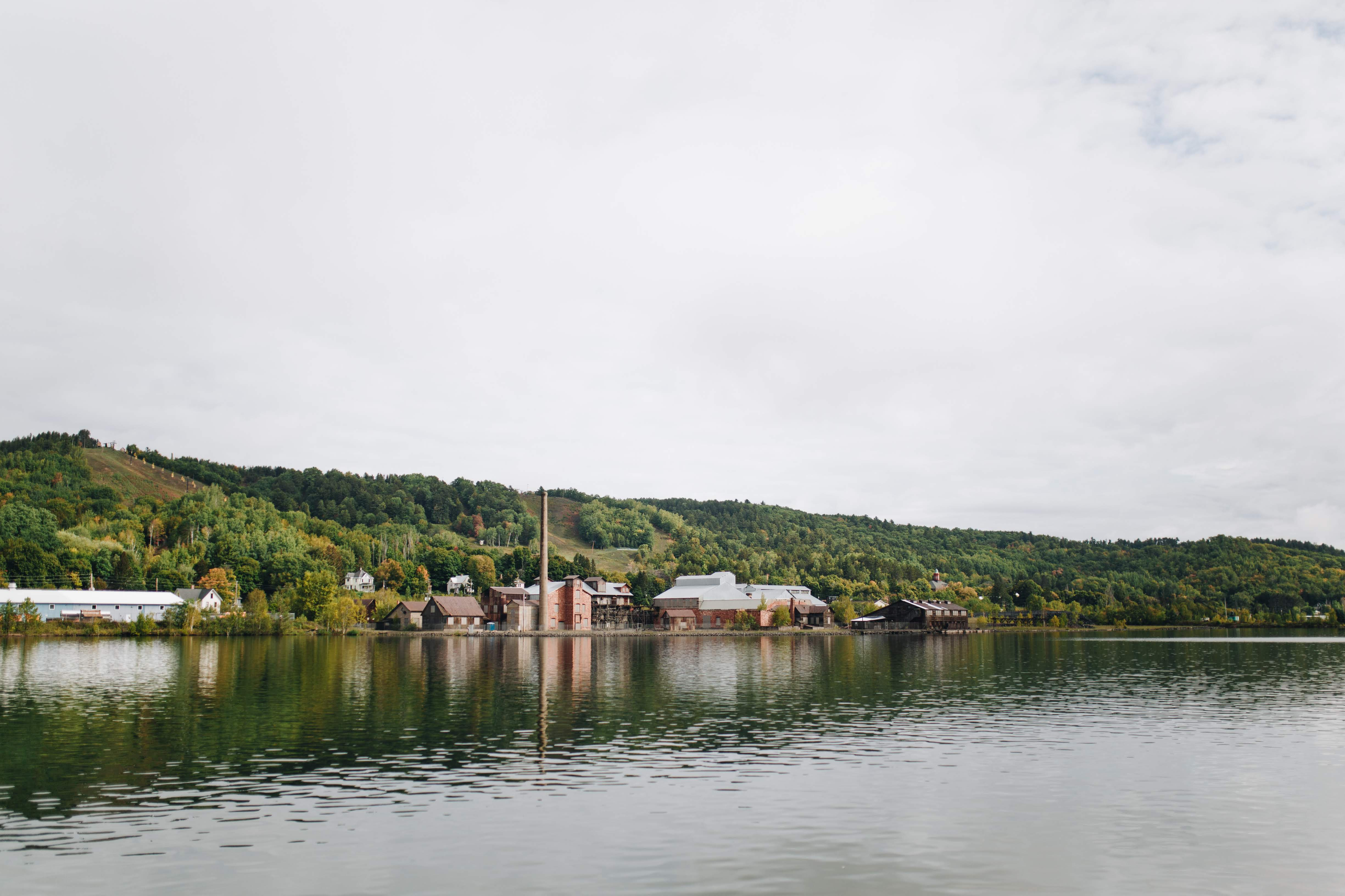 Portage Lake Shipping Canal