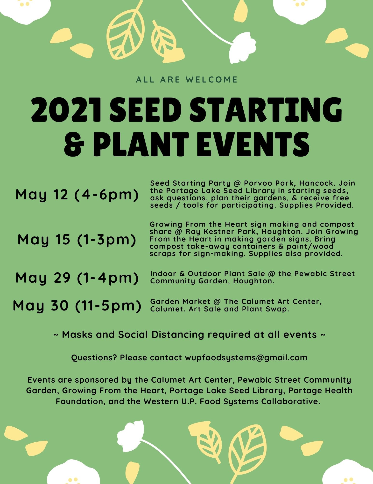 Seedy May Flyer Copper Country