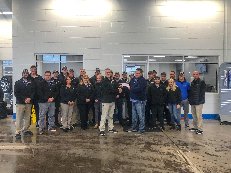 Keweenaw Chevrolet Donates $17,750
