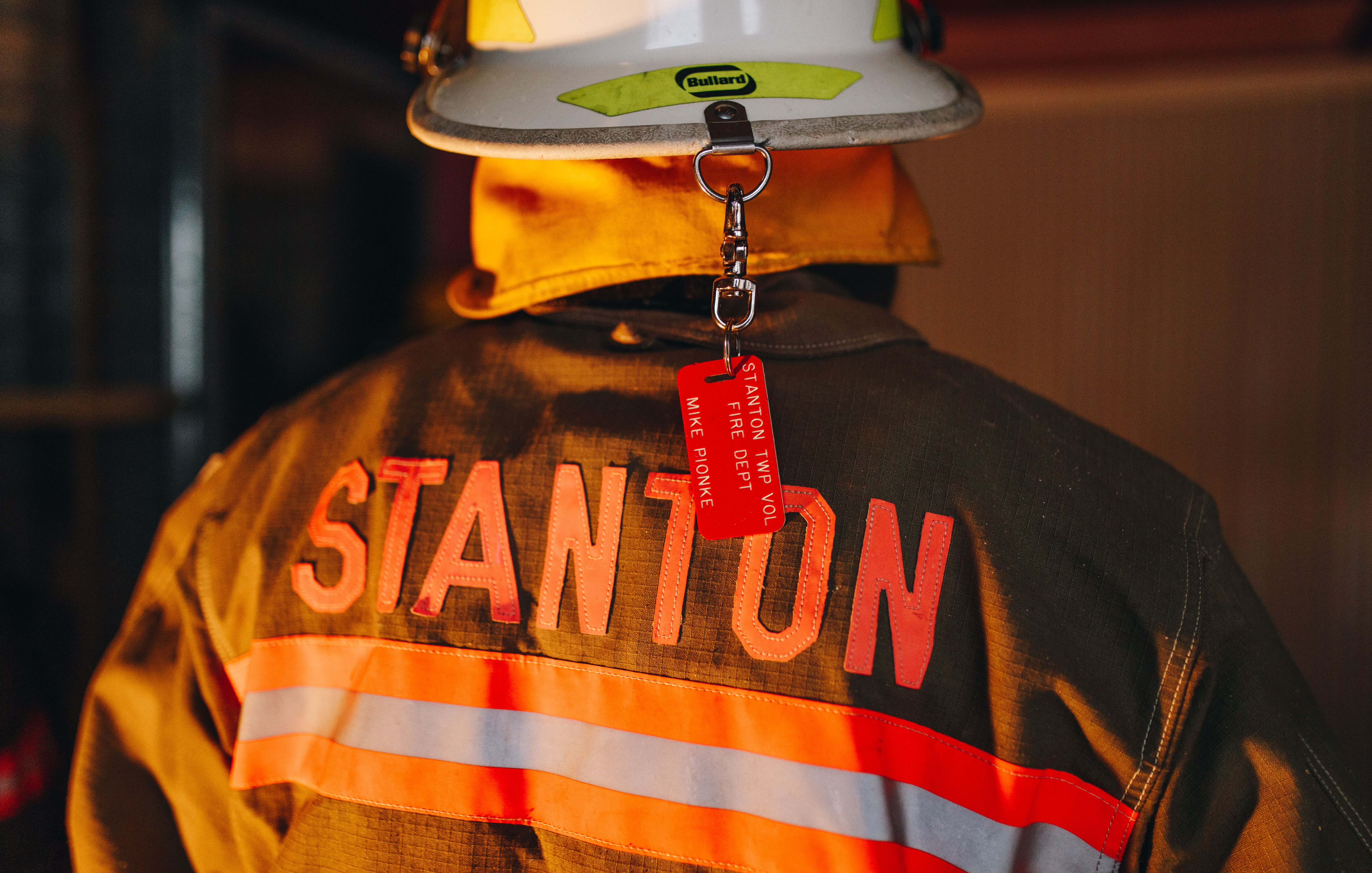Firefighter with Stanton Fire Department